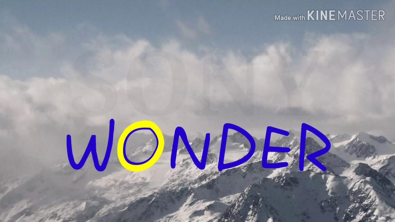 SONY WONDER LOGO REMAKE - YouTube