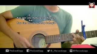 ELIZABETH TAN ft FAIZAL TAHIR Setia - TheIcedCapp Cover + easy chords