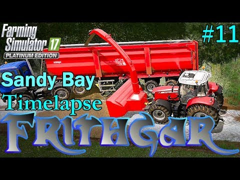 FS17 Timelapse, Sandy Bay #11: Clearing The Yard!