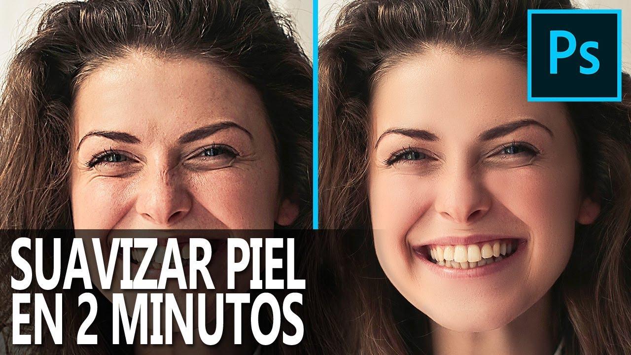 Cómo Suavizar La Piel En Photoshop En 2 Minutos Youtube