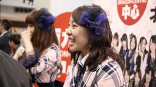 "AKB48 TeamB的 ""雷娘"" 藤江れいな(REINA),及移籍到SNH48的鈴木まりや(M..."