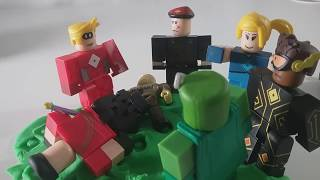 Roblox Heros of Robloxia Play Doh Stopmotion