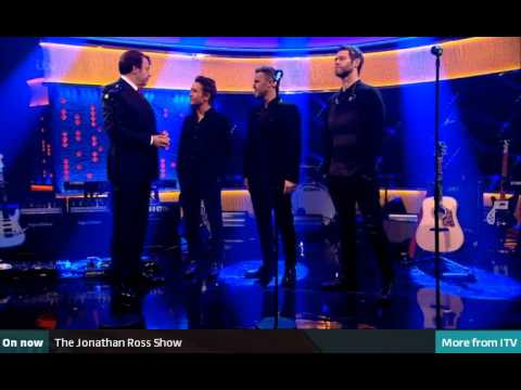 Take That at Jonathan Ross Show - Get ready for it - Kingsman  Secret Sevice
