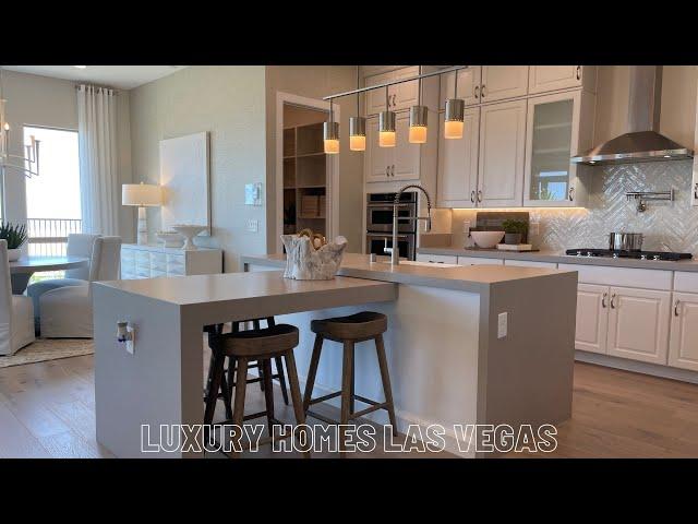Luxury Single Story Home For Sale Las Vegas | Strip View | Carmel Cliff Pulte | Cesena Tour 910k+