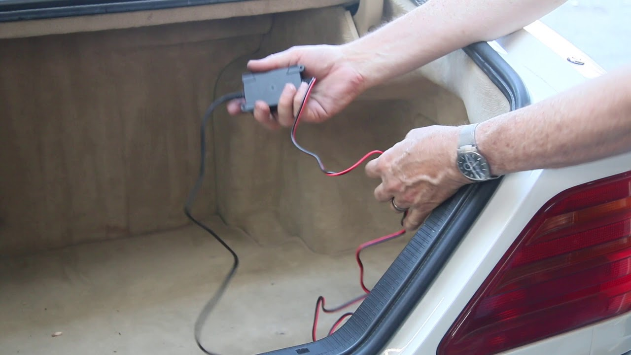 Best Place To Use A Quick Disconnect Battery Maintainer Tender Electrical Wiring