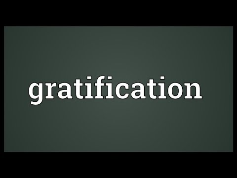 Gratification Meaning