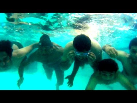 Summer of 2013 in Chennai - Underwater Swimming and Photography experiments