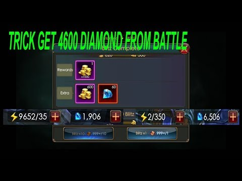 Legacy Of Discord : Trick Get More Diamond From Battle