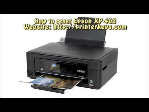 full download reset epson xp 402 waste ink pad counter. Black Bedroom Furniture Sets. Home Design Ideas