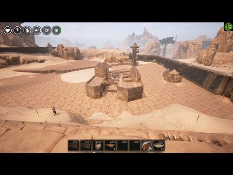 Conan Exiles Ep 25 - Weapon comparison,Shopping street and Road to the Archpriests ep 1 - Set