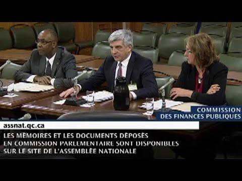 Audition de l'ACLDDQ à la commission des finances publiques
