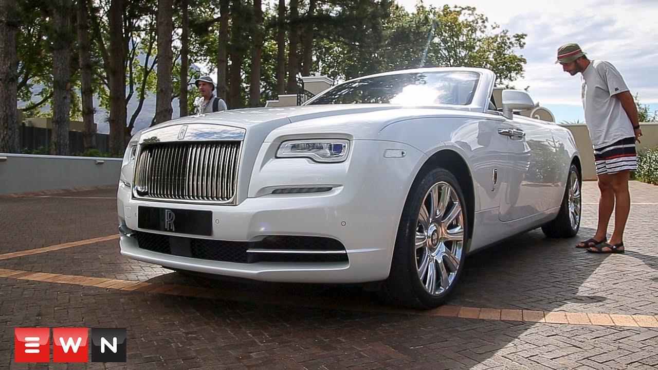 EWN in the Fast Lane: Rolls Royce Dawn - YouTube