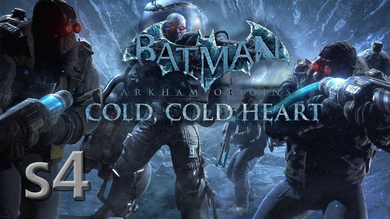 Batman Arkham Origins Cold Heart DLC S4