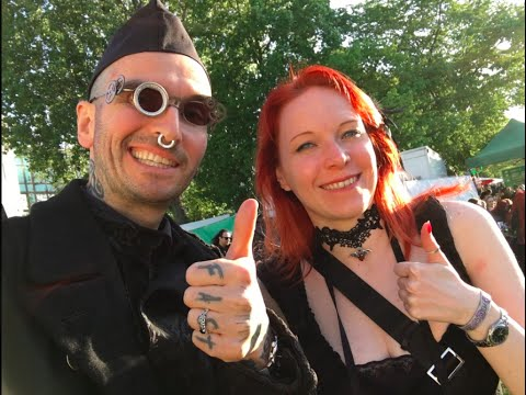 Mark Benecke behind the scenes at the largest gothic festival on earth, the 'Wave Gotik Treffen'