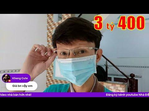 Livestream bán nhà quận Bình Tân gần chợ Bình Trị Đông mới. Nhà 1 lầu đúc thật 4x10m