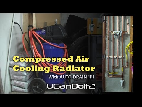 How To Make   Compressed Air Dryer With Auto Drain!