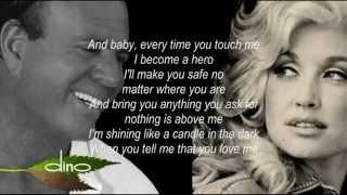 Gambar cover [HD1080P] JULIO IGLESIAS & DOLLY PARTON WHEN YOU TELL ME THAT YOU LOVE ME Lyrics