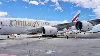Emirates First Class Review - Airbus 380 - Dubai to Sydney EK414