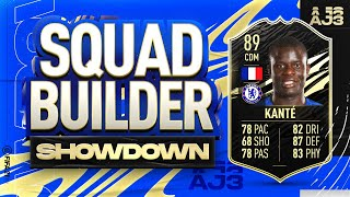Fifa 21 Squad Builder Showdown!!! INFORM N'GOLO KANTE!!!