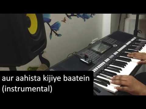Aur Aahista Kijiye Baatein - Instrumental | Pankaj Udhas