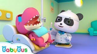Bayi Panda Super Berubah Menjadi Dokter Gigi | Lagu Anak-anak | Bahasa Indonesia | BabyBus