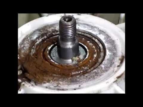 Как снять подшипник с барабана стиральной машины