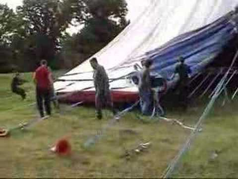& Howto take a circus tent down in record time.Circus Ginnett - YouTube