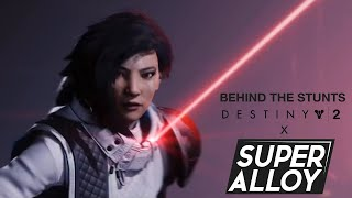 "Destiny 2: Season of the Worthy ""Behind the Stunts"" - Ana Bray vs. the Scions"