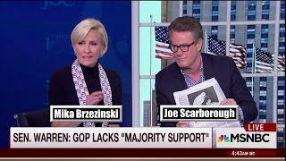 Mika Brzezinski on Elizabeth Warren: