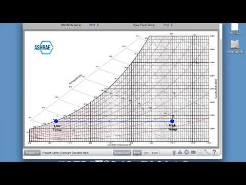 ASHRAE HVAC Psychrometric Chart App