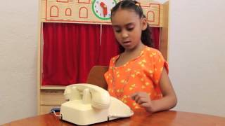 Kids react to Rotary Phone