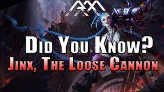 Jinx - Did You Know? EP 20 - League of Legends