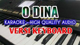 O DINA Lagu Batak Karaoke Versi Keyboard HQ