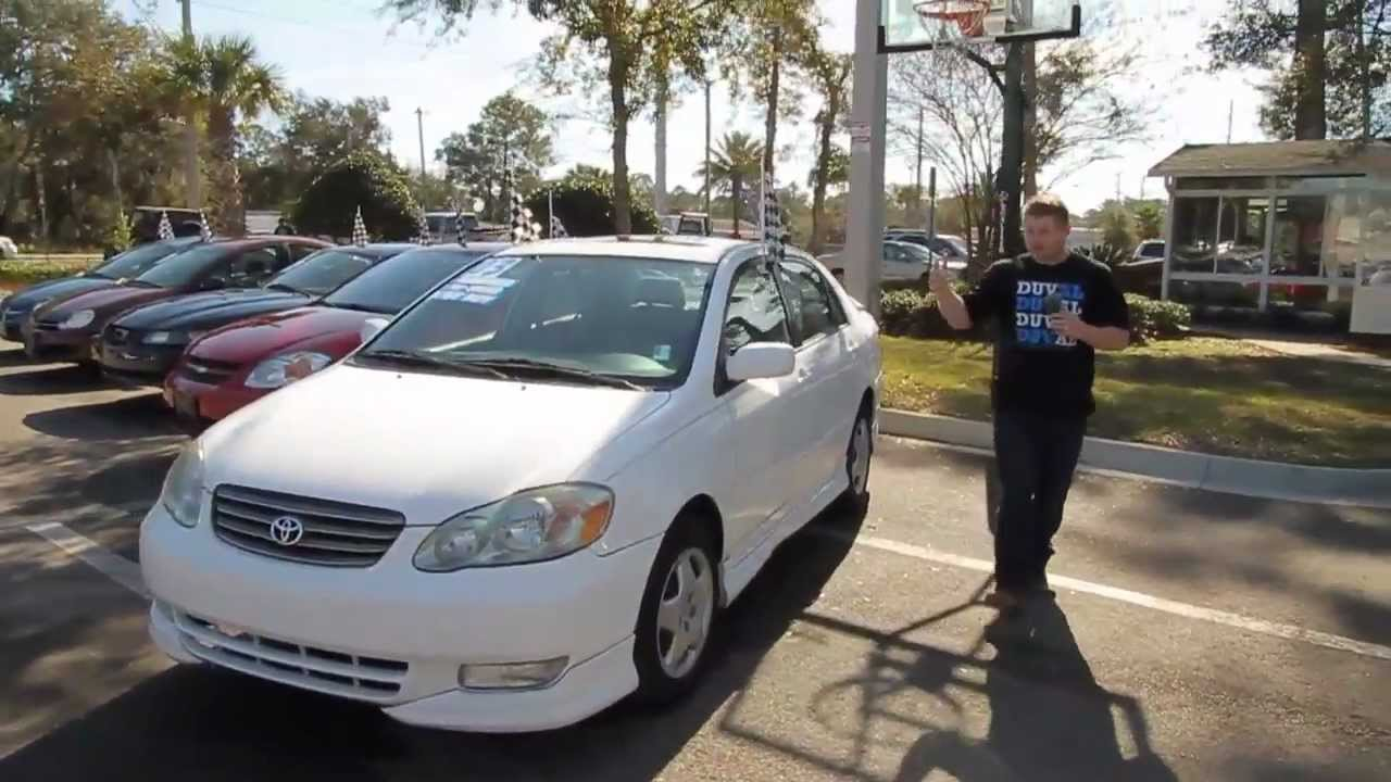 Autoline S 2003 Toyota Corolla Ce Walk Around Review Test Drive You