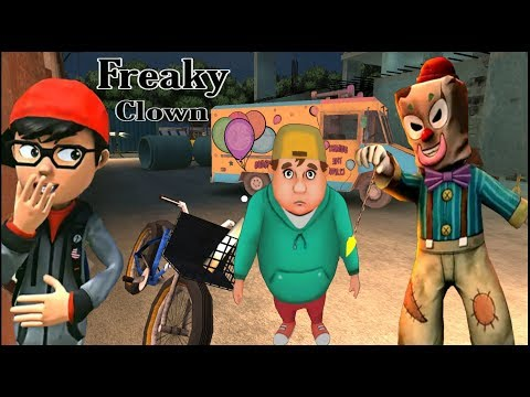 Cara Licik Mencari Mangsa - Freaky Clown :Town Mystery