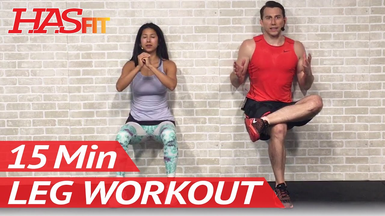 15 Min Leg Workout For Women Men At Home