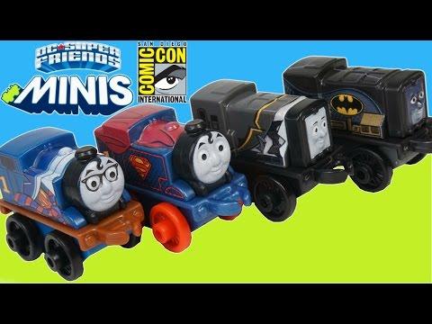 THOMAS AND FRIENDS MINIS TOY TRAINS SUPERMAN BATMAN DIESEL SUPERHEROES