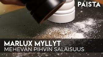 Marlux pippurimylly ja suolamylly - Ranskalaista huippulaatua