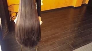 Download Video Bun drop long hair. Hair play. (preview) MP3 3GP MP4