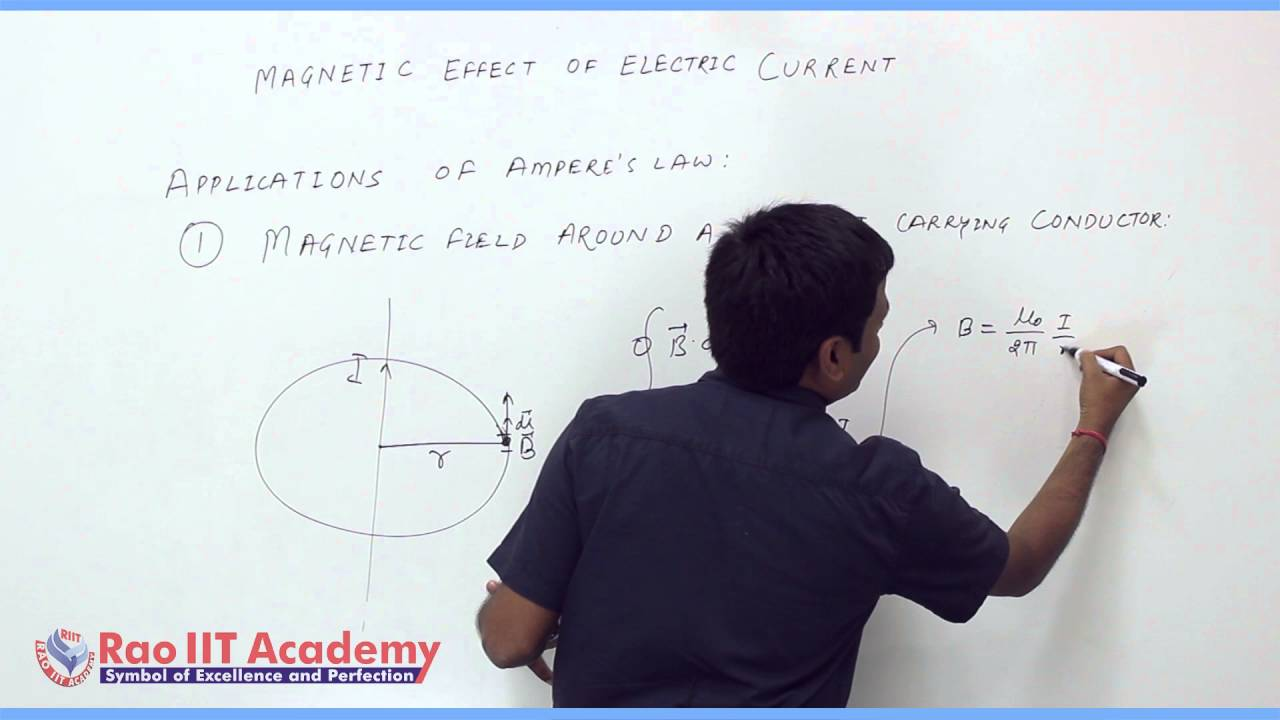 Magnetic Effect Of Electric Current Part 1 Physics Board Video