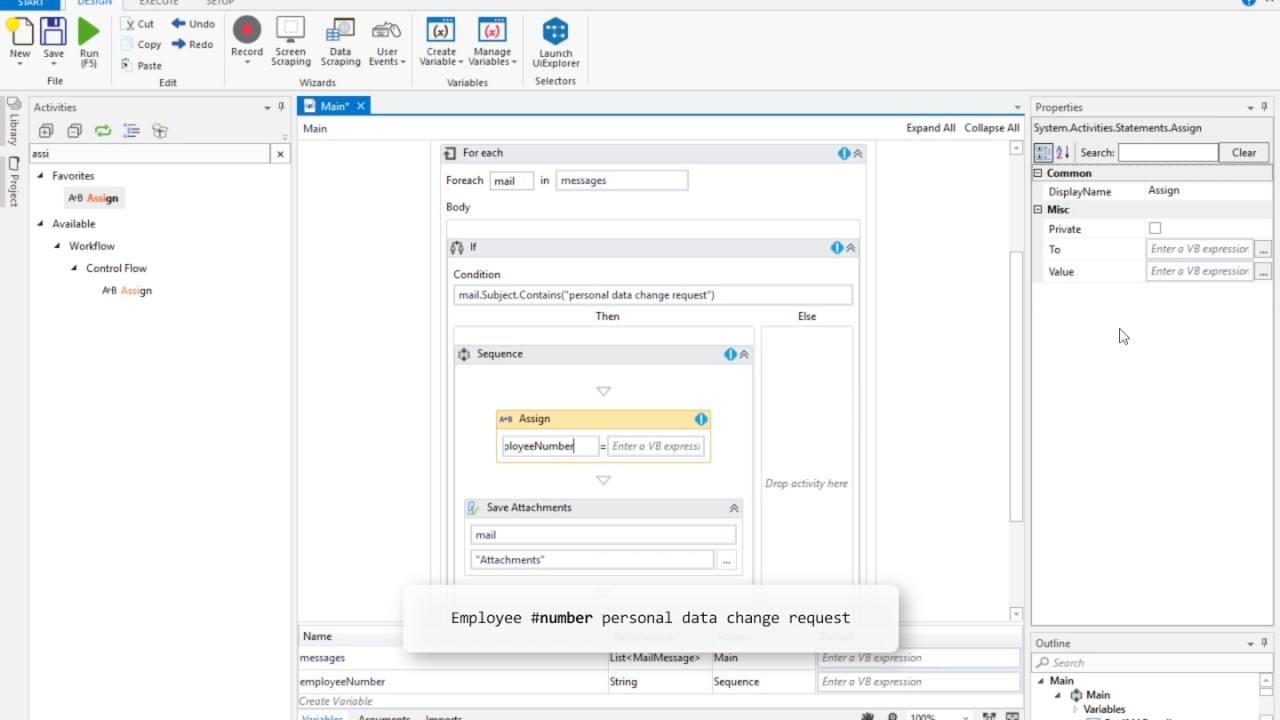 UiPath Essentials Training - E-mail Automation 3 3