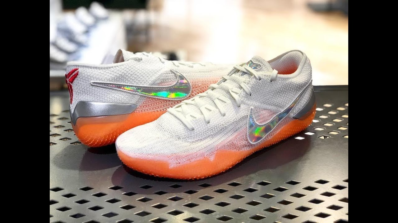 quality design 45e5c b7988 Nike Kobe AD NXT 360 White/Multicolor/Infrared23 • ON FEET