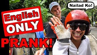 ENGLISH ONLY PRANK in CEBU PHILIPPINES! // Budots Dance