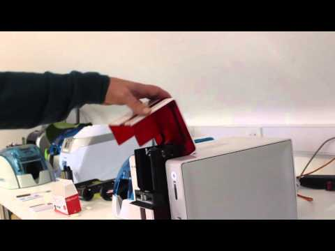 How to clean the Evolis Primacy Printer