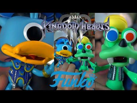 Goofy & Donald (Monster's Inc) Kingdom Hearts III Funko Pop!