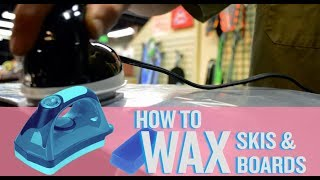 How to Wax Skis and Snowboards for Maximum Performance