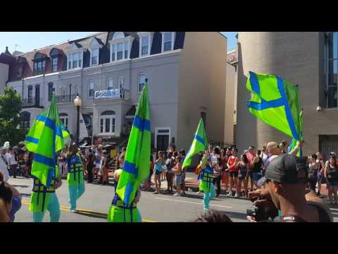 DC Pride 2017 Big Apple Corp marching band