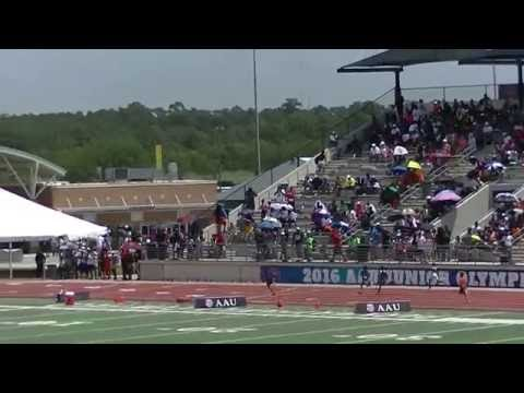 9yr Jonathan Simms 59.41s 400m Finals AAU Junior Olympics 2016