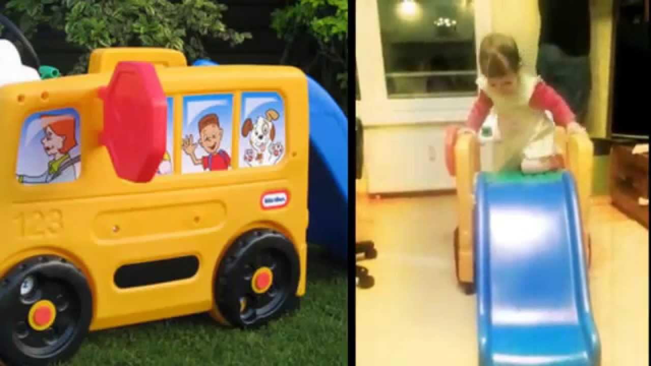Autobus  Little Tikes  Zjeżdżalnia  YouTube -> Kuchnie Dla Dzieci Little Tikes