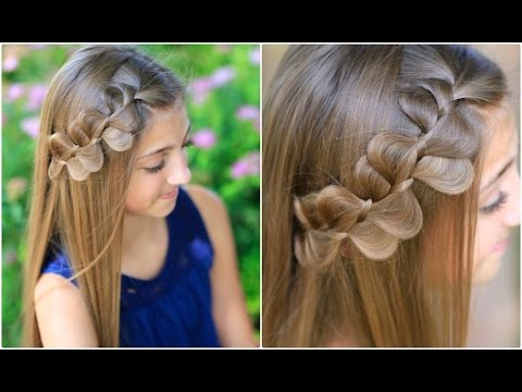 rick rack braid cute girls hairstyles